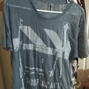 Brand New wet cement XL men's t-shirt